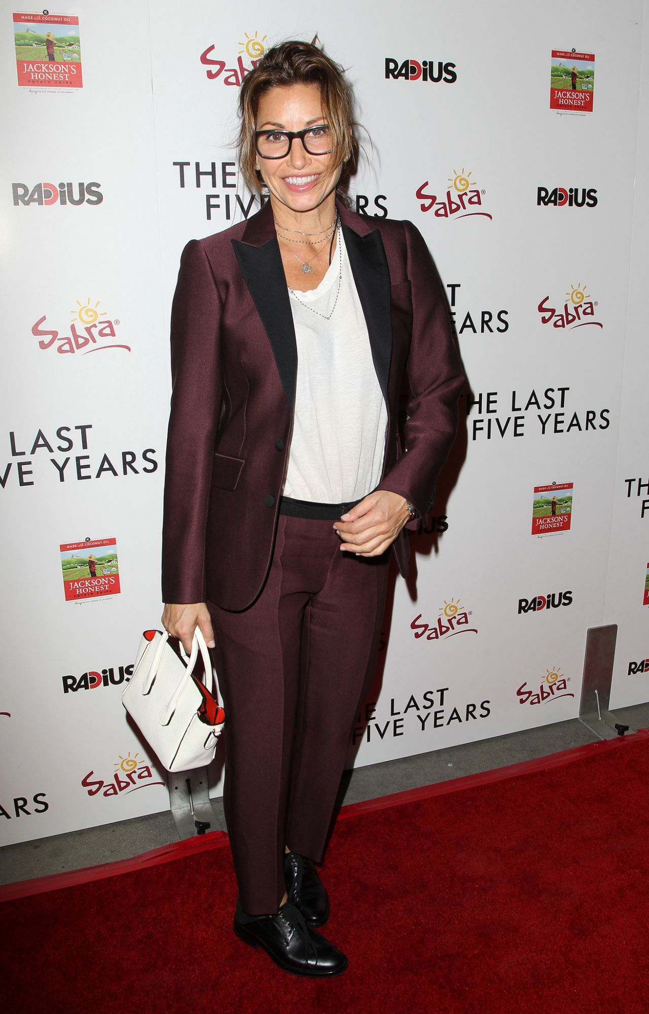Gina Gershon At The Last Five Years Premiere In Los Angeles