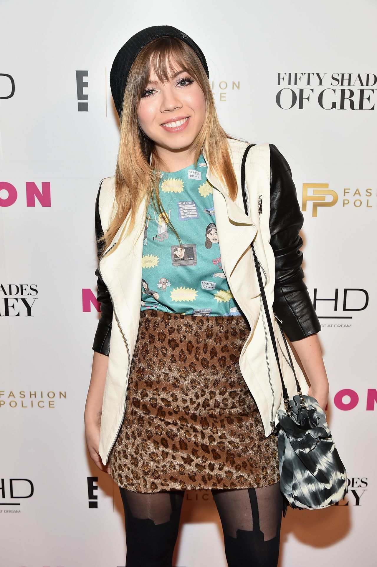 Jennette Mccurdy U2013 Fifty Shades Of Fashion Event In New York City