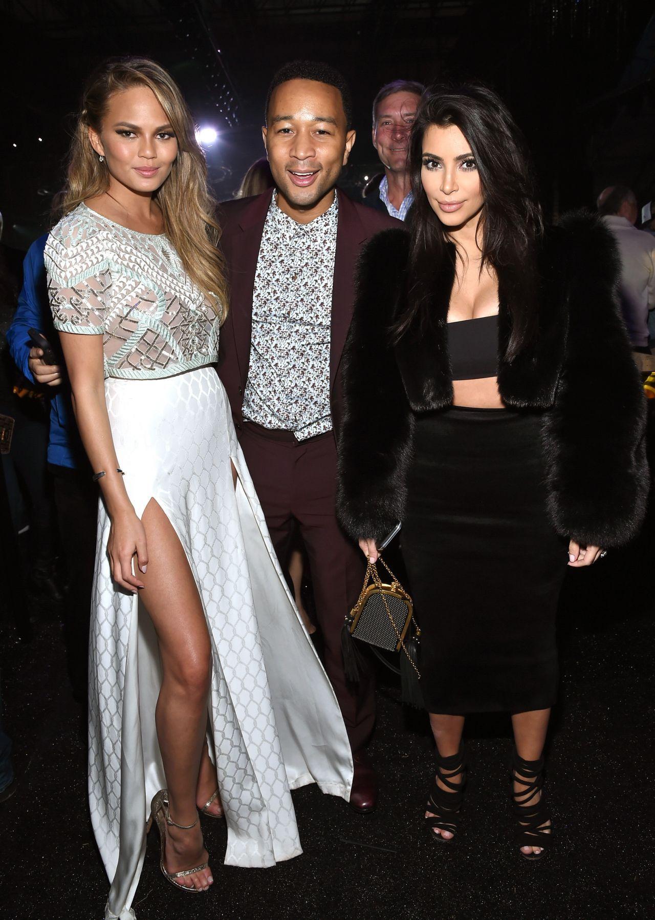 Kim Kardashian At Directv Super Saturday Night In Glendal