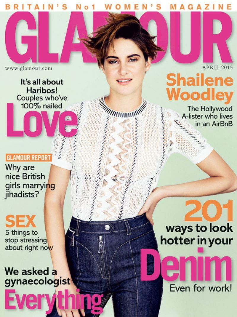 Shailene Woodley In Elle Magazine U2013 April 2015