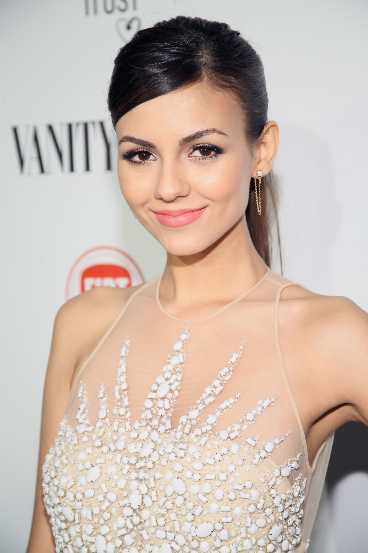 Victoria Justice At Vanity Fair And Fiat Celebration Of Young Hollywood In Los Angeles