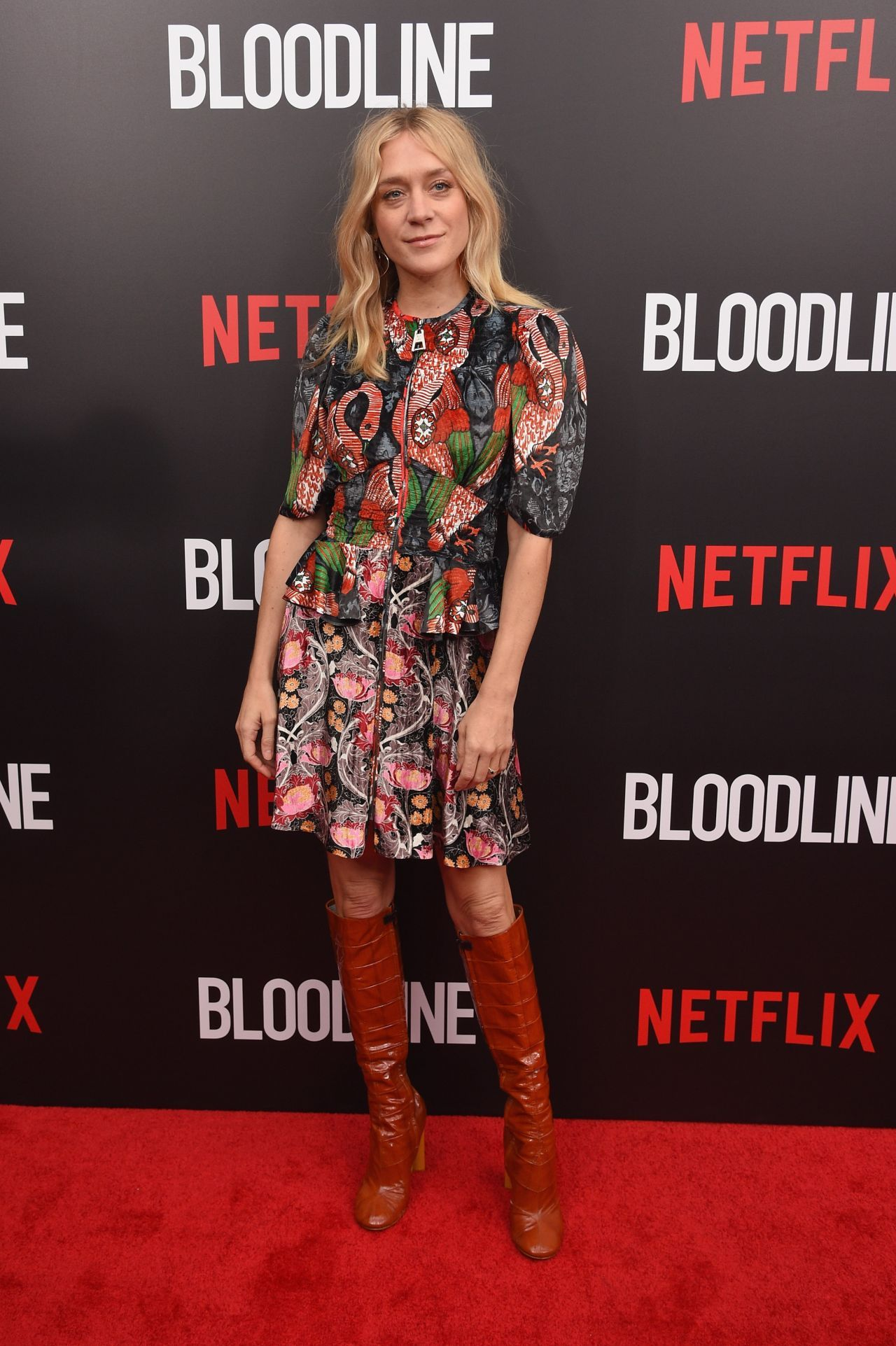 Chloe Sevigny At Bloodline Series Premiere In New York