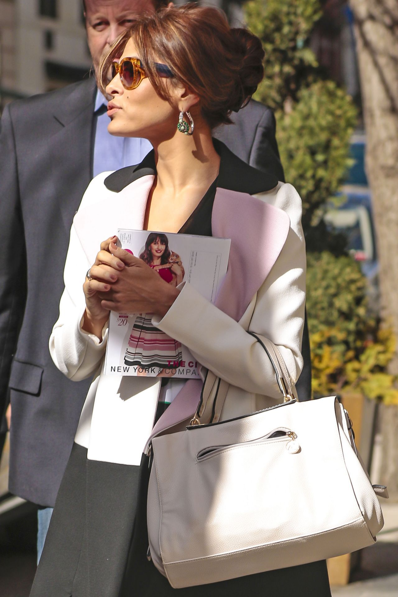 Eva Mendes Style U2013 Out In Nyc