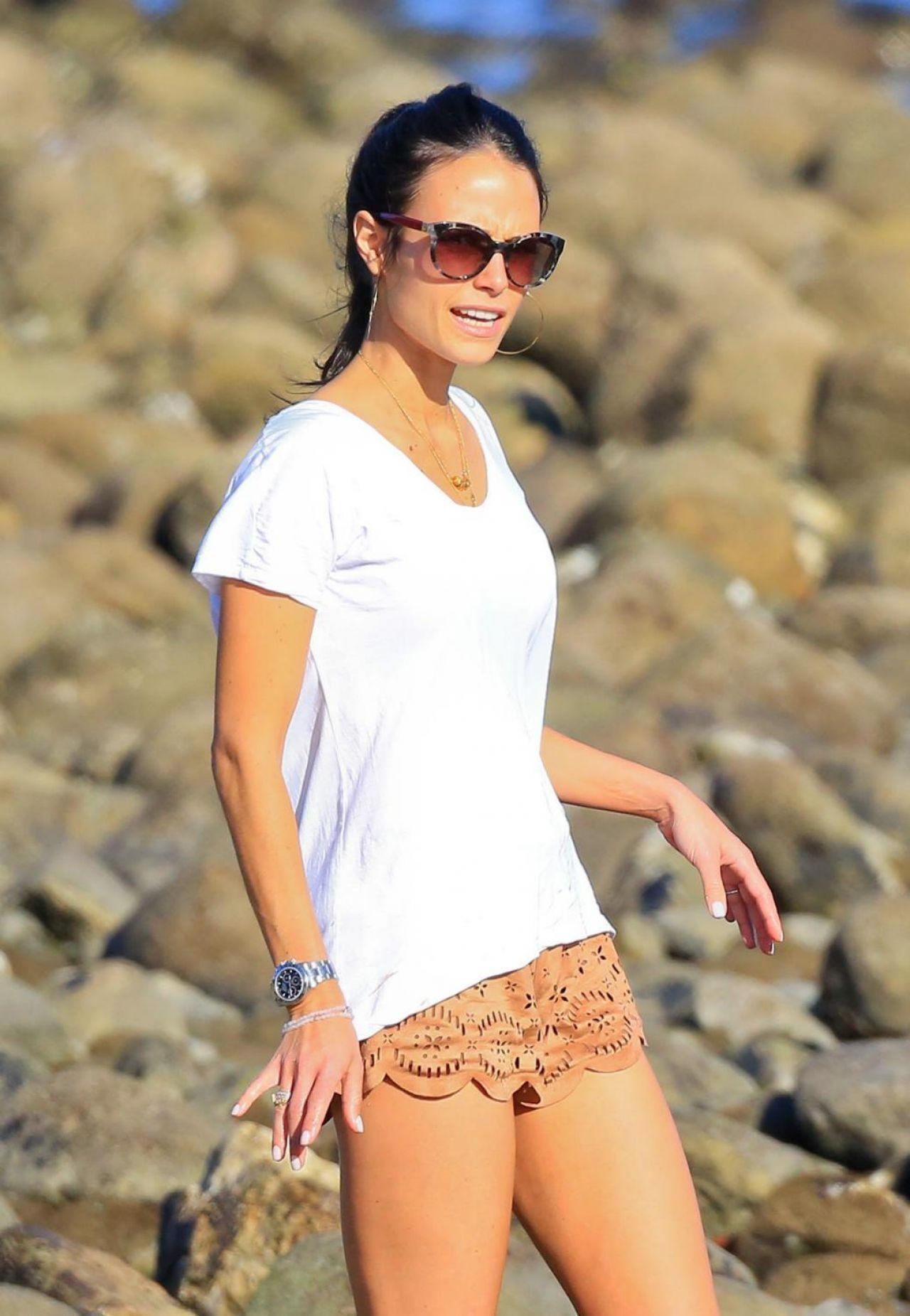 Jordana Brewster On The Beach In Malibu