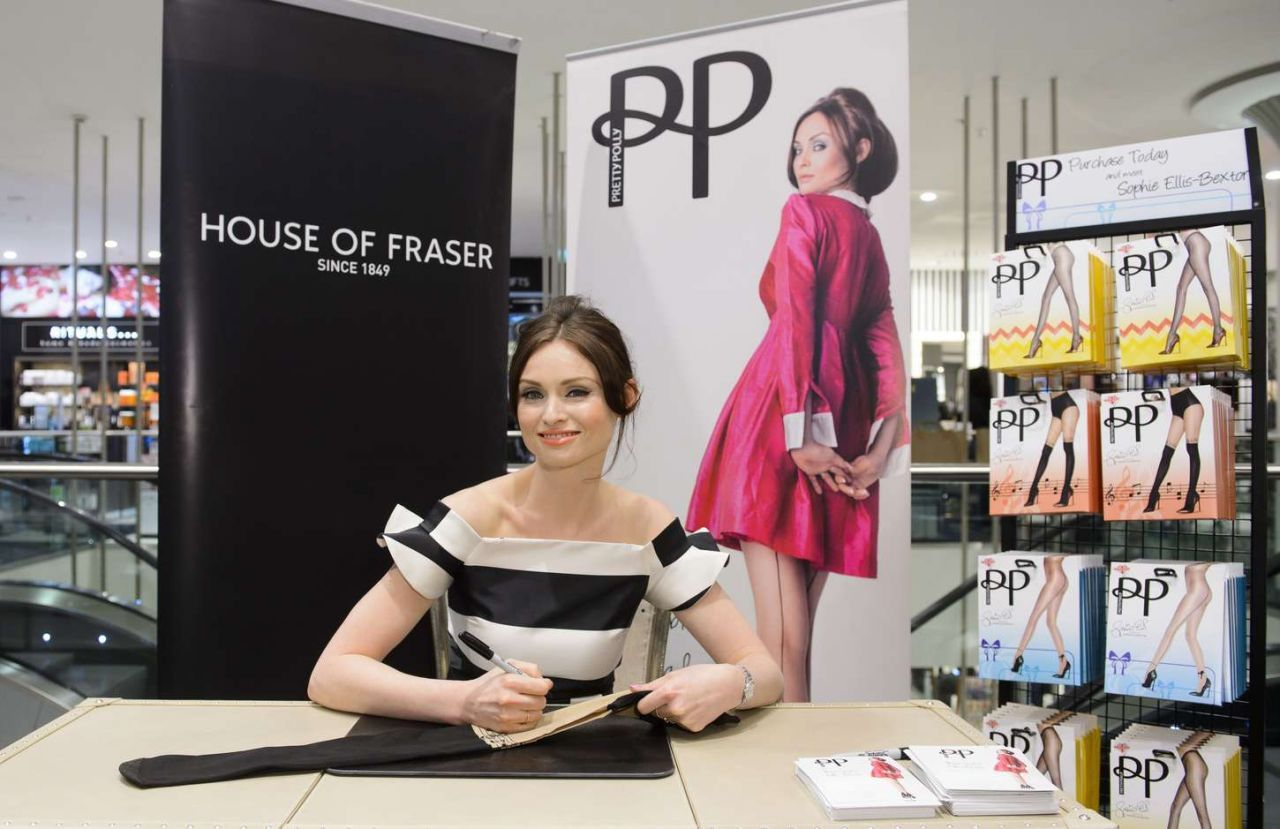Sophie Ellis Bextor U2013 Pretty Polly Event At The House Of Fraser In London