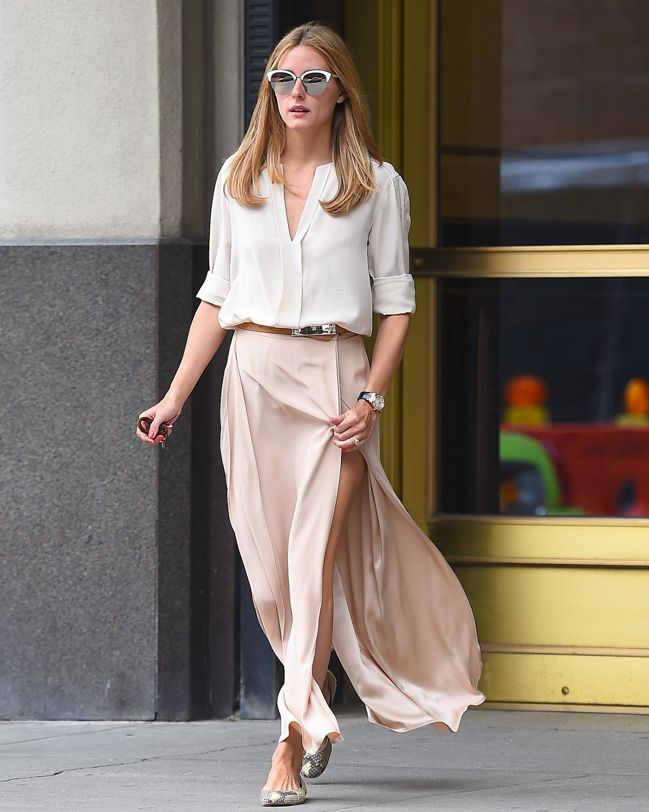 Olivia Palermo Out And About In New York 07 21 2015