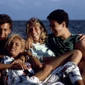 PRIVATE RESORT, Johnny Depp, Emily Longstreth, Karyn O'Bryan, Rob