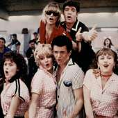 GREASE 2, (bottom L-r): Peter Frechette, Maureen Teefy, Lorna Luft