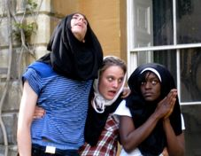 Nuns & NippleSucking: PHOTOS of the Oriel 24 Hour Play | Clamorous