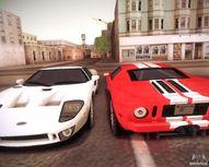 Ford GT para GTA San Andreas vista hacia atr�s