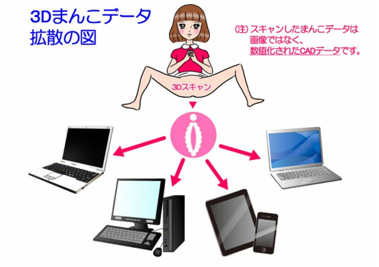 Japanese Woman Arrested For Selling 3d Printable Files Of Her Vagina