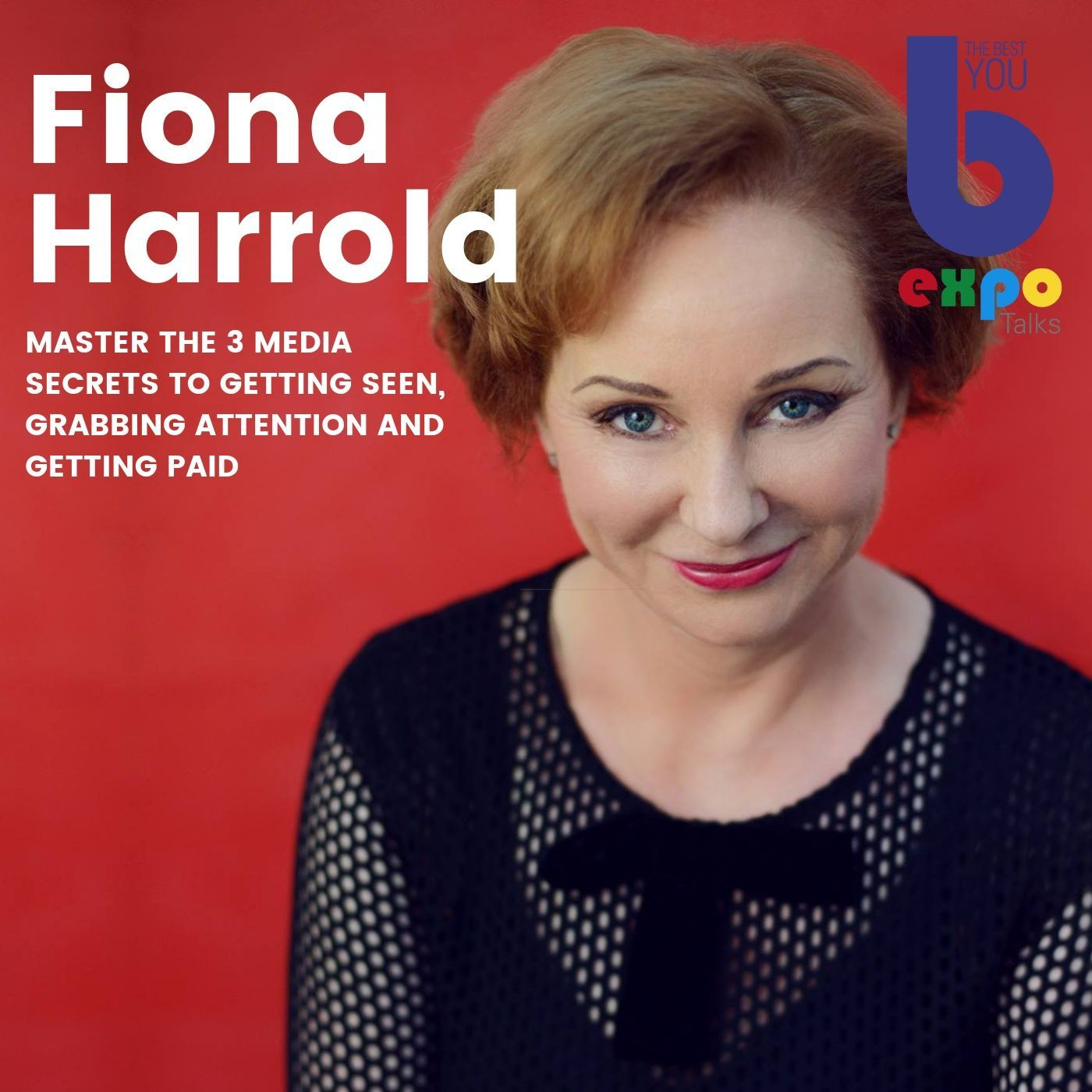 Listen to Fiona Harrold at The Best You EXPO