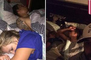 Cheating girlfriend caught in bed with another man, but Duston Holloway takes selfies