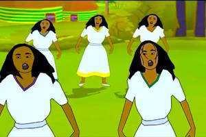 Teddy Afro Mar Eske Tuwaf – WOW! Animation!