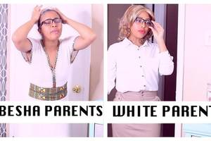 Habesha Parents Vs White Parents (BELLA & DARREN)