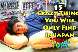 15 Crazy Things You Will Only Find In Japan