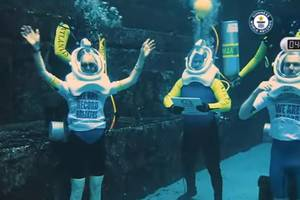 Guinness World Record for Longest Underwater Live Radio Show | Atlantis The Palm, Dubai