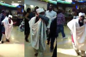 Watch Ethiopian Priest Dancing at a Wedding Ceremony