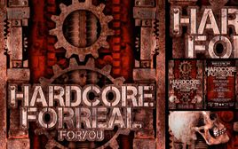 Hardcore For Real  Flyer Design | Laurent Lemoigne  Digital Art