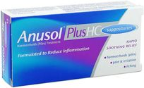AnusolHC Suppositories  patient information, description, dosage and