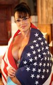 Lisa Ann as Sarah Palin  God Bless America