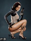 Miranda Lawson, as envisioned by MadSpike (I like your vision, Mister