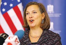 "Victoria Nuland: ""f**k the EU"". Departament Stanu: to nie nasze"