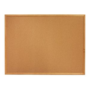 Cork Bulletin Boards, 3 x 2 Feet, Oak Finish Frame (303) - kimcil