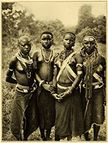 Amazon com  1909 Print Nude Taveta Forest Tribe Girls Kenya Culture
