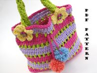Purse, Crochet Pattern PDF,Easy, Great for Beginners, Pattern No  57