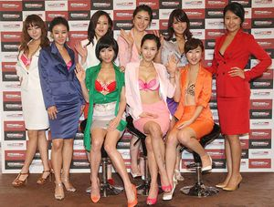 Picture of the Day: The Girls of the Korean Naked News | ROK Drop
