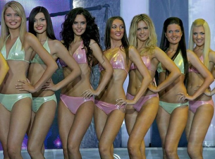 Miss Universe 2005 Naked