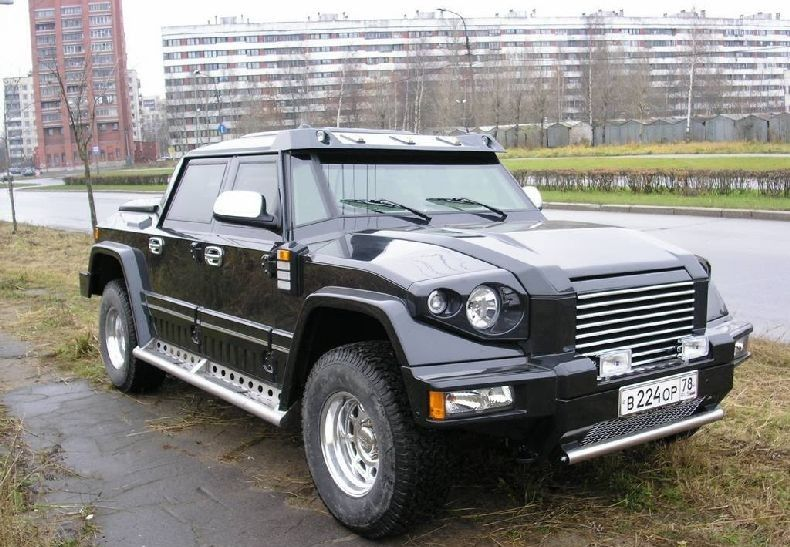 Russian Pickup