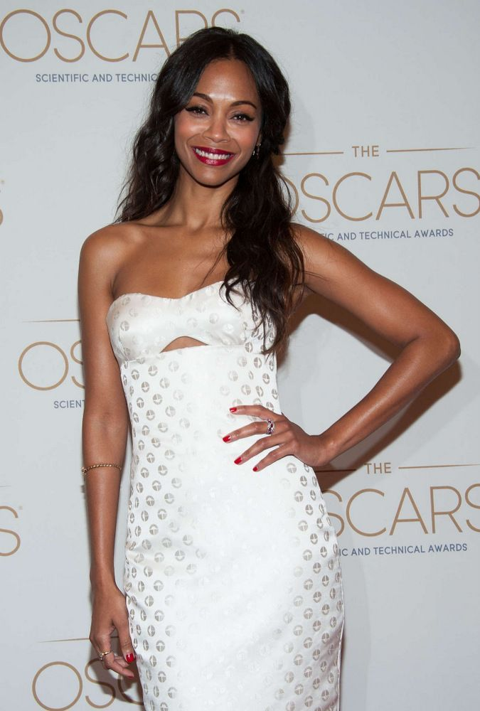 Zoe Saldana At Academy S Scientific And Technical Awards In Beverly Hills
