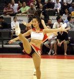 High Kicking Singapore Slinger Cheerleader