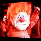 Heat Miser (photo Of My Tv Screen) | Flickr - Photo Sharing!