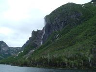 Pissing Mare Falls, Western Brook Pond, June 2007 | Flickr  Photo