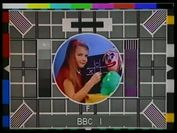 BBC1 Test Card  card british bbc testcard tv caption clown television