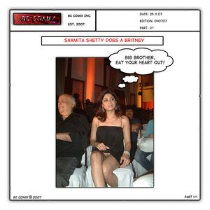Shamita Shetty Does A Britney | Flickr - Photo Sharing!