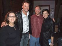 My wife and I with with Stacy London and Clinton Kelly (What Not To