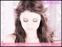 Selena Gomez; Breast Cancer Awareness Month | Flickr  Photo Sharing!