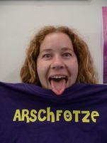 Moi and my new Arschfotze Tshirt thanks ALex :0) | Flickr  Photo