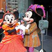 , London. I Was There To See Pirate Mickey And Minnie Open The Store