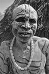 Karo Tribe Man  black white man woman boy tribe karo nude child