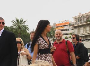 star cannes 2007 a surprising shot with yasmine lafitte french actress