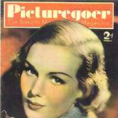 Frances Farmer Picturegoer Magazine Actress Frances Farmer On Cover Of