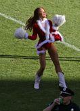 Santa Cheerleader Upskirt