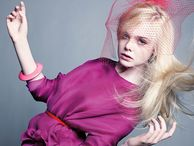Elle Fanning editorial series for Marie Claire July 2011