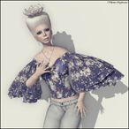 Hair – CROWN hair (platinum blonde) | Timeless Tresures Hunt item