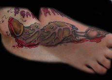 Zombie Penis Tattoo | Flickr  Photo Sharing!